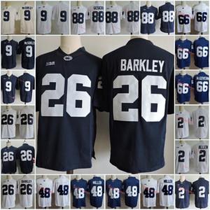 Penn State Nittany Lions Saquon Barkley Джерси 2 Маркус Аллен 9 TRACE Максорли 88 Mike Gesicki 48 Shareef Миллер 66 Connor Макговерн Джерси