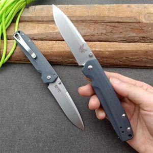 Benchmade BM485 D2 pieghevole EDC Camping Butterfly allenatore coltello a3062 sopravvivenza coltello pieghevole