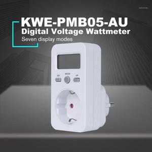 KWE-PMB03 Plug Socket Цифровое напряжение Wattmeter Power Потребляемая мощность WATERGY Meter AC Анализатор электричества Монитор1