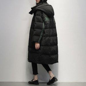 90% White Duck Down Jacket Women Clothes 2020 Winter Coat Women Korean Hooded Puffer Jacket Warm Parka 195Y262 YY2189