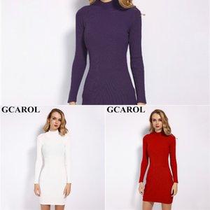 2020 gcarol printemps femmes sexy robe serré étirement