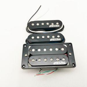 Black WVH Alnico5 Electric Guitar Pickups SSH Humbucker Eleciric Guitar Pickups Made In Korea