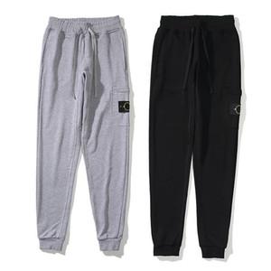 Мода Мужчины Женщины бегуны Sweatpants 2020 Улица Беговая Терри Спортивные брюки мужские TRACK Брюки 20SS женщин Дорогостоящие Jogger Pant высокого качества