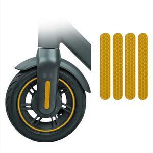 전기 오토바이의 전륜 덮개를위한 Ninebot Max G30 반사 감지 접착제