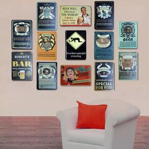 2021 classico birra stile vintage sign sign metallo pittura a barre pub club home decorazioni per la parete retrò metallo muro arte sticket poster misura 20x30 cm