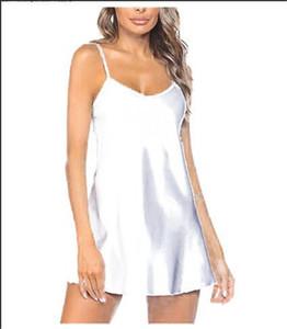 Womens 디자이너 섹시한 속옷 민소매 v 목 레이스 섹시한 잠옷 솔리드 컬러 패션 캐주얼 숙녀 의류