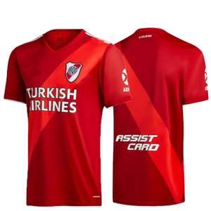 neue 20 21 RIVER PLATE roten Trikot Fußball MARTÍNEZ D, ALESSANDRO Balanta CAVENAGHI Scocco 2020 2021 River Plate Fußballhemd thailand weg