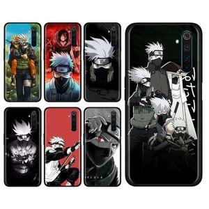 Hatake 3Animaté Kakashi Soft Silicon Mobile Téléphone Mobile Case RealMe X50 5G x2 56 Pro XT C3 5i 6i Naruto 10