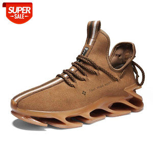 Men's Fashion Trend Sports Shoes Non-slip Wear-resistant Comfortable Cushioning Outdoor Running Shoes Basketball Shoes39-46 #Dv89