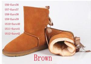 NEU 2018 Qualität! Marken-Frauen-Stiefel-Schnee-Aufladungen ol Frauen-Schuh Netter Winter Stiefel freies Verschiffen # 816