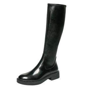 2021 New High Boots Platform Winter Warm Boots Women Long Winter Shoes Women Sock Over The Knee