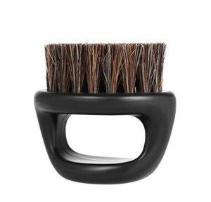 Men's Mustache Beard Brush Barber Salon Hair Sweep Brush Shaving Facial Hair Neck Face Duster Brush jllPVp comb2010
