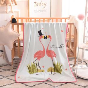 Bébé Couverture Nap Couvertures Cartoon Throw Blanket Fluffy enfants doux de la peau de bébé Couvertures Cartoon friendly 100 * 140cm Home Textiles EEC2748