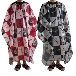 Plaid Waterproof Hair Cutting Cloth Salon Barber Cape Cover Hairdressing Hairdresser Apron Haircut Capes