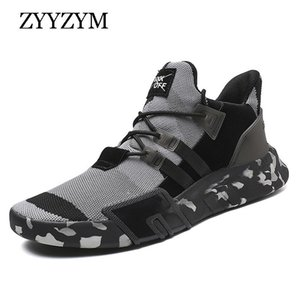 ZYYZYM Sneakers Camouflage Spring Autumn Fashion Light Breathable Men Footwarer Casual Shoes LJ201124