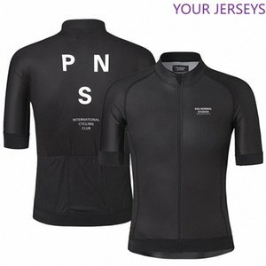 PNS 2020 Bike Tops Clothing Wear Silicone Non-slip Cyclin Shirt Summer Short Sleeve Cycling Jersey For Men Quick Dry Bicycle MTB zICC#