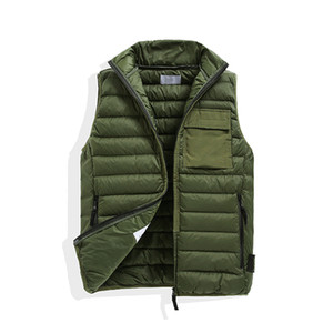 CP Topstyoney Pirate Company New Pattern Konng Gonng Uomo Gilet Down Drill Primavera e autunno Casual Thin Gilet Tide Scheda