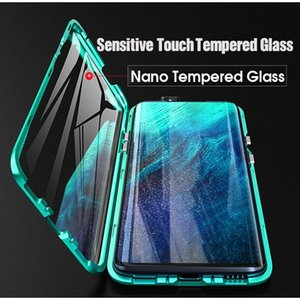 360 Magnetic Adsorption Metal Case For Oppo Realme 7 6 5i Reno 4 3 Pro Lite A9 A5 A31 A11x 202 wmtIFc