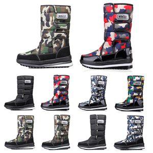 Luxury designer women men boots Over the Knee Thigh High mens snow winter boots waterproof platform booties 36-45 Drop Shipping style 13