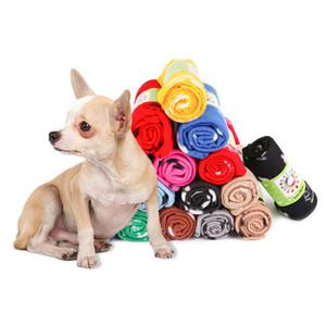 60 * 70cm Couverture Pet Petit Paw Imprimer Serviette chat chien polaire doux couvertures chaudes Beau lits Coussin tapis pour chien Couverture Couverture 24 styles w-00302
