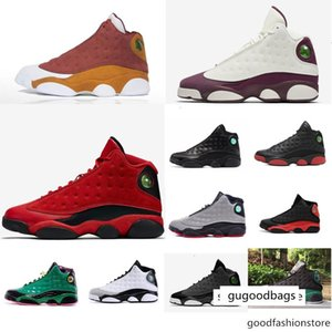 13 Jumpman Cheap Xiii Basketball Men Shoes 13s Usa Black Yellow Red Melo Gold White Green Bred Olive Oreo Aj13 Sneakers Boots J13 Wit