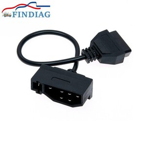 For 7Pin Adaptor OBD Connector 7Pin to Socket 16Pin Female Cable Adapter for Converting Connection Free Shipping