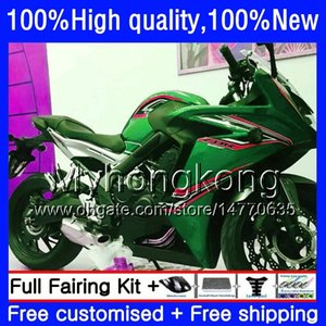 Bodywork For HONDA CBR 650F New green hot CBR650F 11 12 13 2014 2015 53HM.75 CBR650 F CBR-650F CBR 650 F 2011 2012 2013 14 15 16 Fairing kit