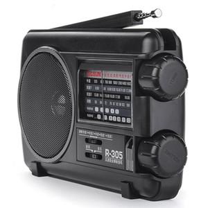 Portable FM MW multi band radio speaker portableplayer multiband shortwave full pointer Retro broadcast semiconductor horn AC DC