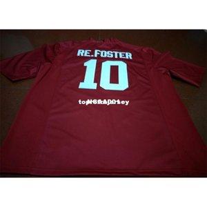 Pas cher Hommes # 10 Reuben Foster Alabama Crimson Tide Top de haute qualité Collège noir blanc rouge Jersey ou sur mesure tout maillot de nom ou le numéro
