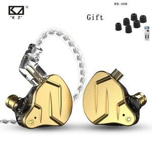 Наушники наушники KZ ZSN PRO X 1BA + 1DD Auricales InternoS Hibridos de Tecnologia Hifi металл, могилы deportivos contance1