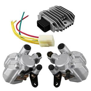 2 Set Accessories: 1 Set Voltage Rectifier Regulator, for Fz6 Fz6N Fz6S Yzf R1 R6 & 1 Front Brake Caliper, for