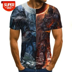 New summer 3D animation printed T-shirt 3D digital printed T-shirt men women casual harajuku  short-sleeved shirt  #1J6p