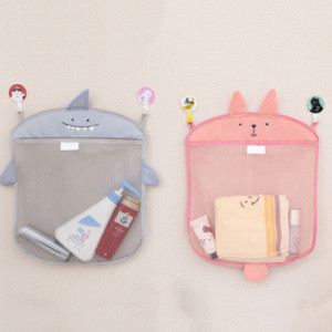 Baby bathroom mesh bag for baths toy bag kids basket for toys net cartoon animal shapes waterproof cloth sand toys beach stroage New Arrival