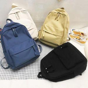 Новая тенденция 2021 рюкзак женщины рюкзаки мода нилоновый женский рюкзак анти кражи ноутбук сумки девушка студент школа