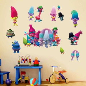 Magic Hair sprite cartoon cartoon wall stickers children's room decoration creative personalized stickers PVC self adhesive removable
