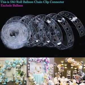 5M Balloon Arch Kit-Partei-Dekoration Zubehör, Geburtstag, Hochzeit Hintergrund Dekoration Weihnachten Ballon chainballoon Blumenclip dhl shi