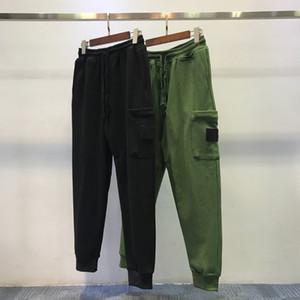 Novo estilista Calça de Carga para Homens Mulheres Track Calças Correndo Elastic Cintura Casual Calças Pant Calças Lápis Flat Homme