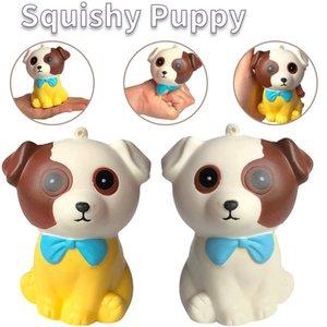 Lento Rising Squishy Puppy Cachorro Squeeze Cão Husky Jumbo Descompressão Personagens Animais Alivia Treinamento de Ansiedade do Stress Y0110