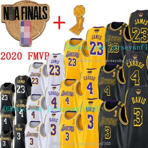 2020 finali di Champions Uomini LeBron James 23 Anthony Los AngelesLakersnbaNero Anthony Davis 3 Caruso 4 Alex Basketball Maglie