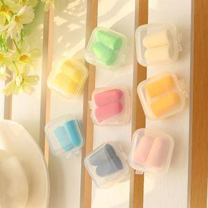 DIY quadrado vazio Mini plástico transparente de armazenamento Containers Caso Box com tampa pequena caixa de jóias Earplugs Caixa de armazenamento BWC2960