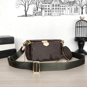POCHETTE ACCESSOIRES 3 set Shoulder Bag Chain Crossbody bag handbags purses