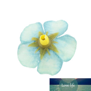 50pcs 2cm Mini Daisy Artificial Flower Head For Wedding Home Decoration DIY Garland Handicraft Simulation Cheap Fake Flower