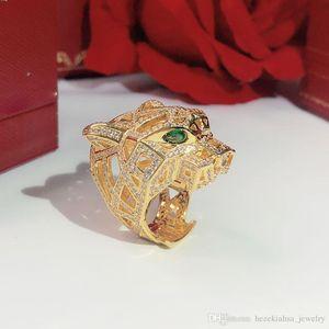 Набор в бурилнеалляционном леопарде головной кольцо Trend High-End продает хорошо мощное механическое леопардовое кольцо бесплатная доставка медный материал нейтралитектуры