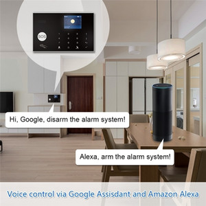 New design smart alarm system gsm+wifi home security tuya wireless WIFI Remote Control