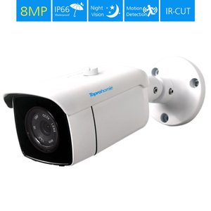 TOPROHOIME 4K Ultra 8MP 3840x2160 security Camera Sony Sensor 8MP Outdoor Waterproof night vision Camera Video suvellance Camera