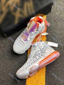 hococal Nueva alta calidad tendencia James XVII 17 zapatos de baloncesto LeBron 17s Media Day Palmer Fruity Pebbles Red Carpet Niños Mujeres Hombres zapatillas de deporte