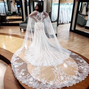 Country Plus Size Arabic Aso Ebi Crystals Lace Mermaid Wedding Dresses Sexy Crew Vintage Bridal Dresses Elegant Wedding Gowns