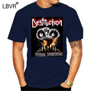 Erkekler Tişörtlü moda imha sonsuz devastation'86 bant Kreator Sodom tişört yenilik thrash