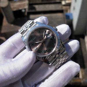 8 Style 41mm Mens Roman Wimbledon Automatic Super BP Factory V2 Watch Jubilee Bracelet Watches Men 126334 Date just Crystal Wristwatches