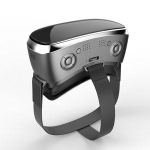 V3H 3D VR SCATOLA VR Occhiali Casco Intergrated VR SCATOLA auricolare include Android funzionamento del sistema con trasporto libero del DHL